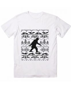 Merry Christmas Bigfoot Christmas T-Shirts