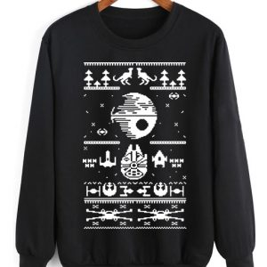 Star Wars Geek Ugly Christmas Sweater