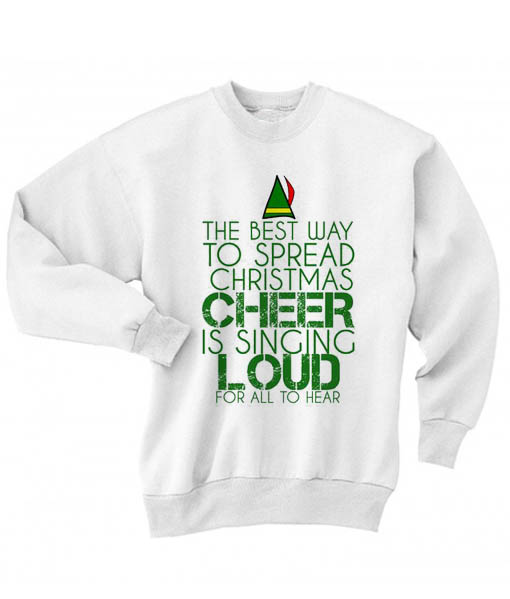 the best way to spread christmas cheer ugly christmas sweater