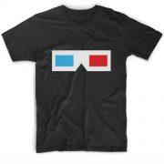 3D Glasses Logo Movie Quote Tshirts