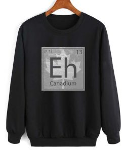 Canadium Eh Long Sleeve T-Shirt Nerd Sweater