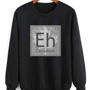Canadium Eh Long Sleeve T-Shirt Nerd Sweater
