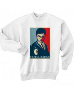 Expelliarmus Shirt Long Sleeve T-Shirt Nerd Sweater