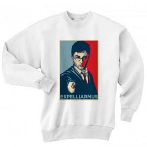 Expelliarmus Shirt Long Sleeve T-Shirt Nerd Sweater