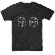 Fresh milk Boobs Quote Tshirts