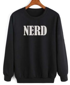 Nerd Logo Shirt Long Sleeve T-Shirt Nerd Sweater