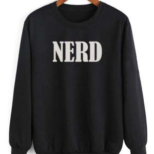 Nerd Logo Shirt Long Sleeve T-Shirt Nerd Sweater