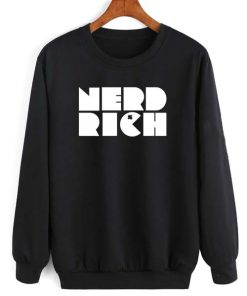 Nerd Rich Long Sleeve T-Shirt Nerd Sweater