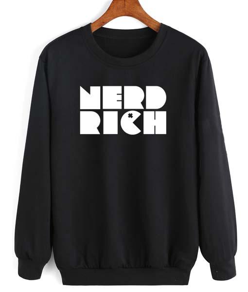 Nerd Rich Long Sleeve T-Shirt Nerd Sweater