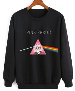 Pink Freud Funny Men and Women Sweatshirt Quotes Sweater