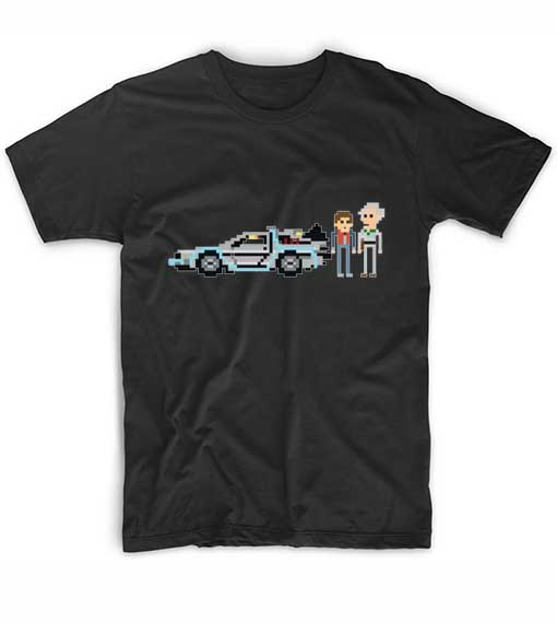 Rick And Morty Pixel Movie Quote Tshirts