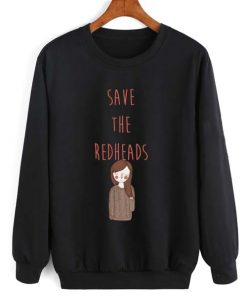 Save The Redheads Long Sleeve T-Shirt Nerd Sweater