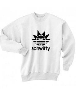Schwifty Sport Long Sleeve T-Shirt Nerd Sweater
