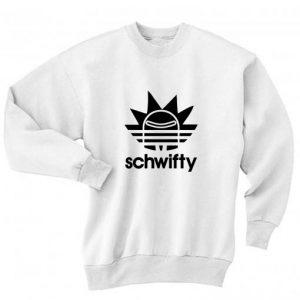 Schwifty Sport Long Sleeve T-Shirt Nerd Sweater