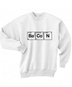 Science Meet Bacon Long Sleeve T-Shirt Nerd Sweater
