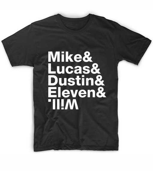 Stranger Things Kids Custom T Shirts No Minimum