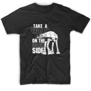 Take a Walk on the Dark Side Movie Quote Tshirts