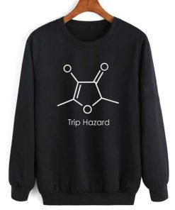 Trip Hazard Long Sleeve T-Shirt Nerd Sweater