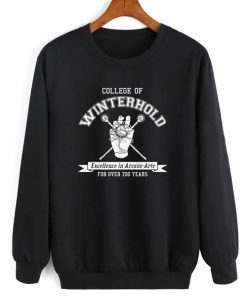 Winterhold Long Sleeve T-Shirt Nerd Sweater