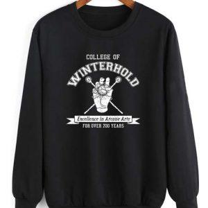 Winterhold Long Sleeve T-Shirt Nerd Sweater