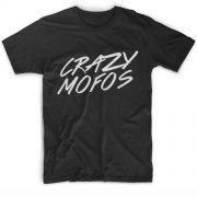 Crazy Mofos Logo Men And Women Fashion T Shirt Custom Tees