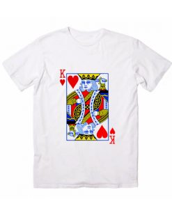King Card Men And Women Fashion T Shirt Custom Tees