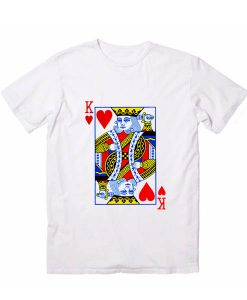 King Card Men And Women Fashion T Shirt Custom Tees