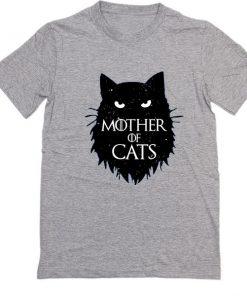 Mother of Cats Women Fashion T Shirt