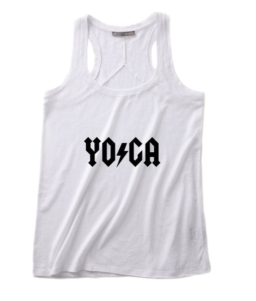 Yoga Shirt Summer Funny Quote Tank top