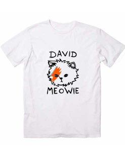David Meowie T-Shirt