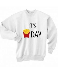 It's Fry Day Sweater