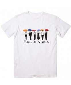 Friends Umbrella Logo T-Shirt