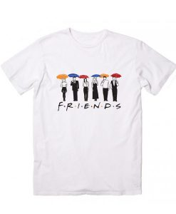 Friends Umbrella Logo T-Shirt