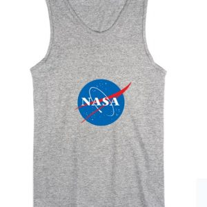Nasa Logo Summer Funny Quote Tank top