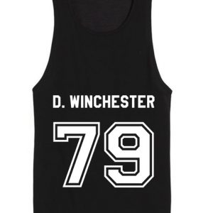 Winchester 79 Supernatural Summer Funny Quote Tank top