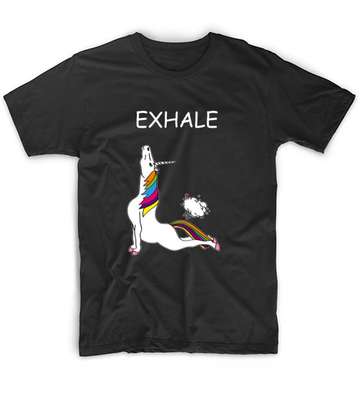 Inhale Exhale Fitness T-Shirt