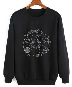 Cosmos Solar System Sweater Funny Sweatshirt