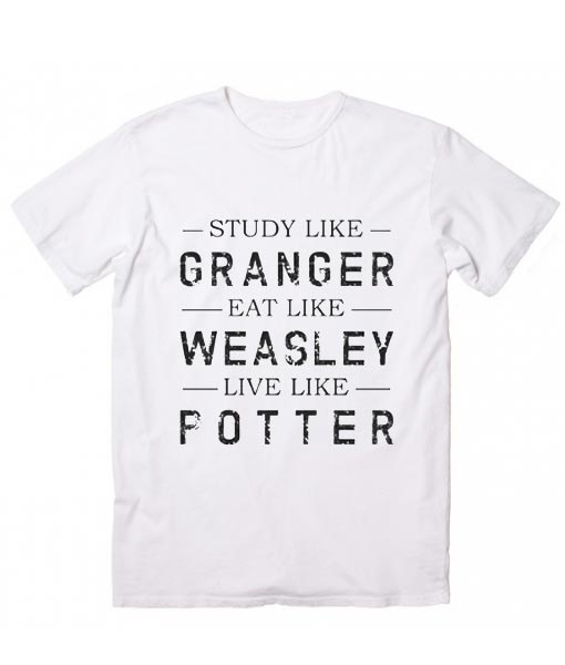 0d943cf4 Granger Weasley Potter Harry Potter Quotes T-Shirt - Funny t shirts ...