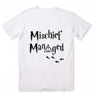 Mischief Managed Harry Potter Quotes T-Shirt