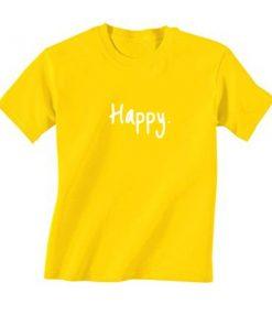 Happy Minimalist T-Shirt