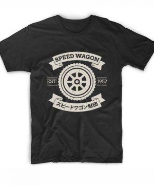 Speed Wagon Foundation T-Shirt Custom T Shirts No Minimum. Jojos Bizarre Adventure Tees Shirt, Manga Funny Movie Quotes