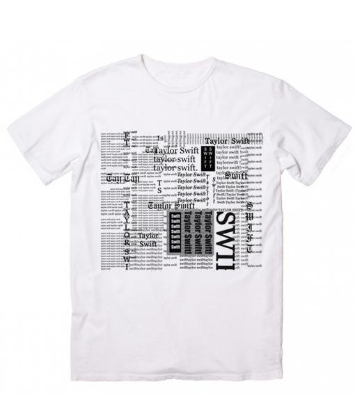 30286fb0 Taylor Swift Reputation Typeup - Taylor Swift - T-Shirt - Funny T ...