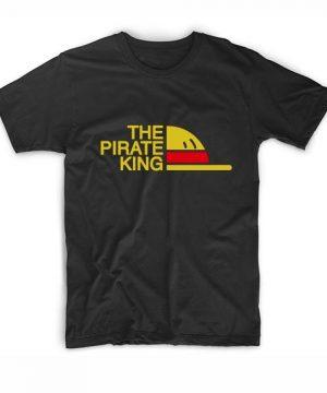 The Pirate King T-Shirt Custom T Shirts No Minimum. One Piece Tees Shirt, Manga Funny Movie Quotes