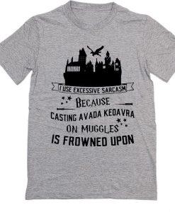 Casting Avada Kedavra T-Shirt