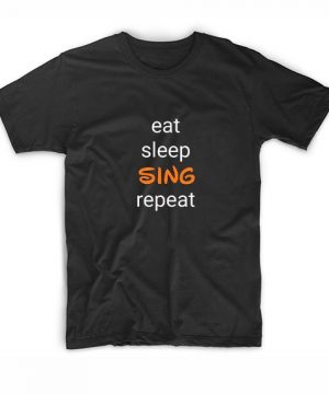 Eat Sleep Sing Disney Repeat T-Shirt