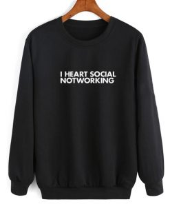I Heart Social Notworking Sweater