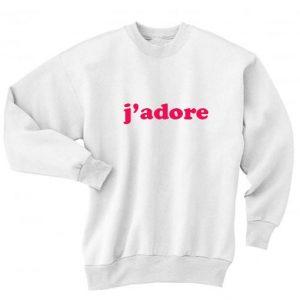 J'adore Sweater