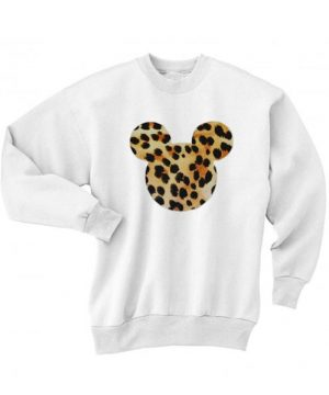 Mickey Mouse Leopard Sweater