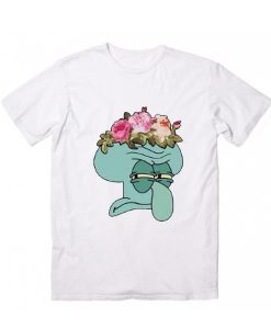 Squiddy Flowers T-Shirt