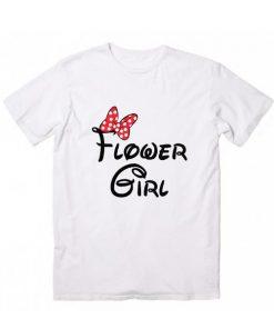 Flower Girl Disney T-Shirt